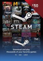 STEAM Wallet Top Up - £50 (Digital Product)