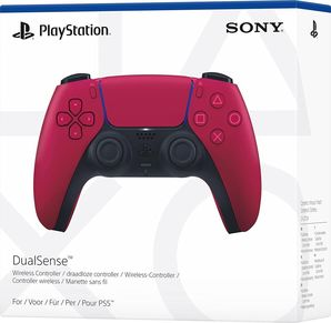 PlayStation 5 DualSense Wireless Controller (Cosmic Red)