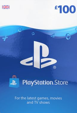 Playstation Network Wallet Top Up £100 (Digital Product)