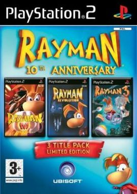 Rayman 10th Anniversary Compilation Pack