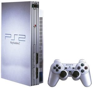 "Sony Playstation 2 PS2 Console Original ""Fat"" - Silver"
