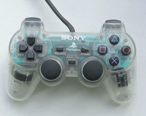 Sony PS2 Dual Shock 2 Controller - Clear