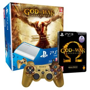 God of War Limited Edition White 500GB SuperSlim PS3 Console