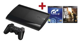 PlayStation 3 Super Slim Console 500GB with GT6 & Last of Us