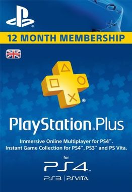 PlayStation Plus - 365 Day Subscription (Digital Product)