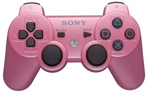 Sony PS3 Dual Shock Controller PINK