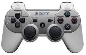 Sony PS3 Dual Shock Controller SILVER
