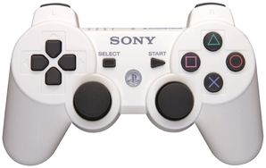 Sony PS3 Dual Shock Controller WHITE