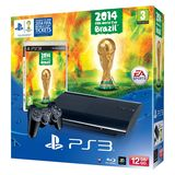 PlayStation 3 Console (SSlim) 12GB with FIFA World Cup 2014