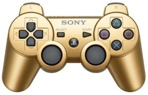 Sony PS3 Dual Shock Controller GOLD