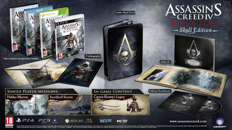 Assassins Creed Iv Black Flag Skull Edition Playstation