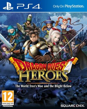 Dragon Quest Heroes: The World Tree's Woe and The Blight Bel
