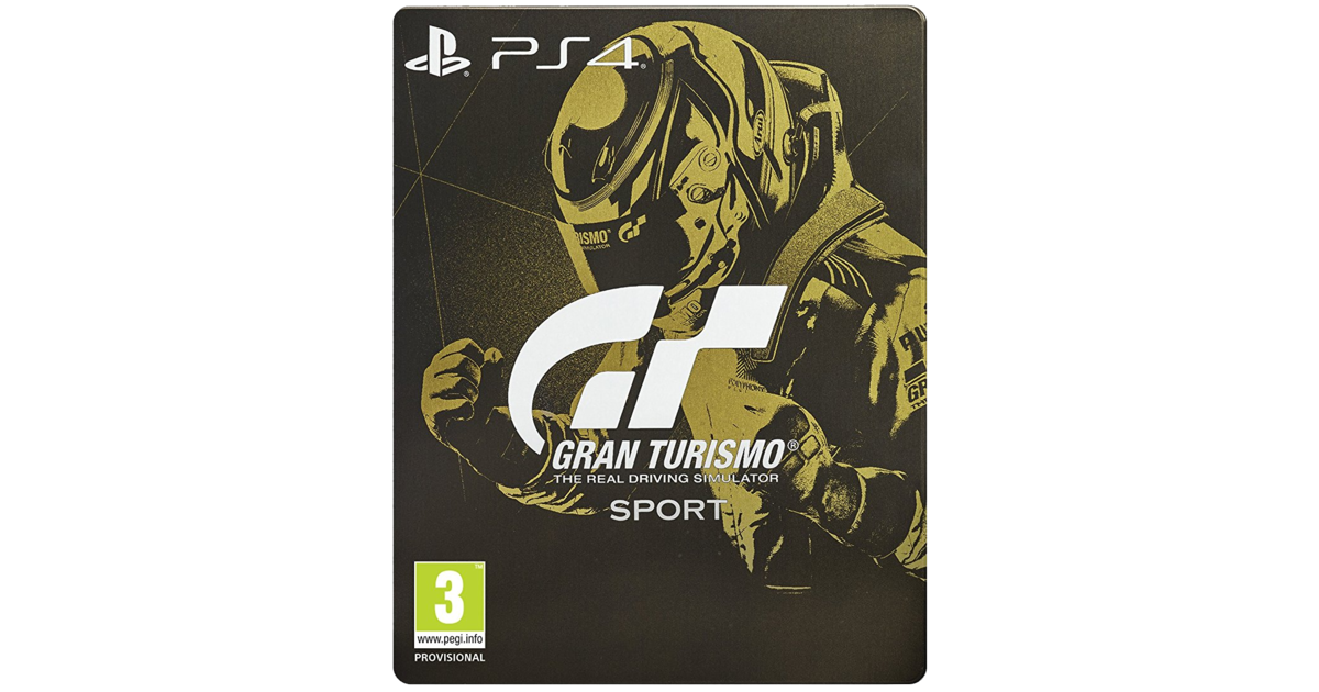 gran turismo sport steelbook edition playstation. Black Bedroom Furniture Sets. Home Design Ideas