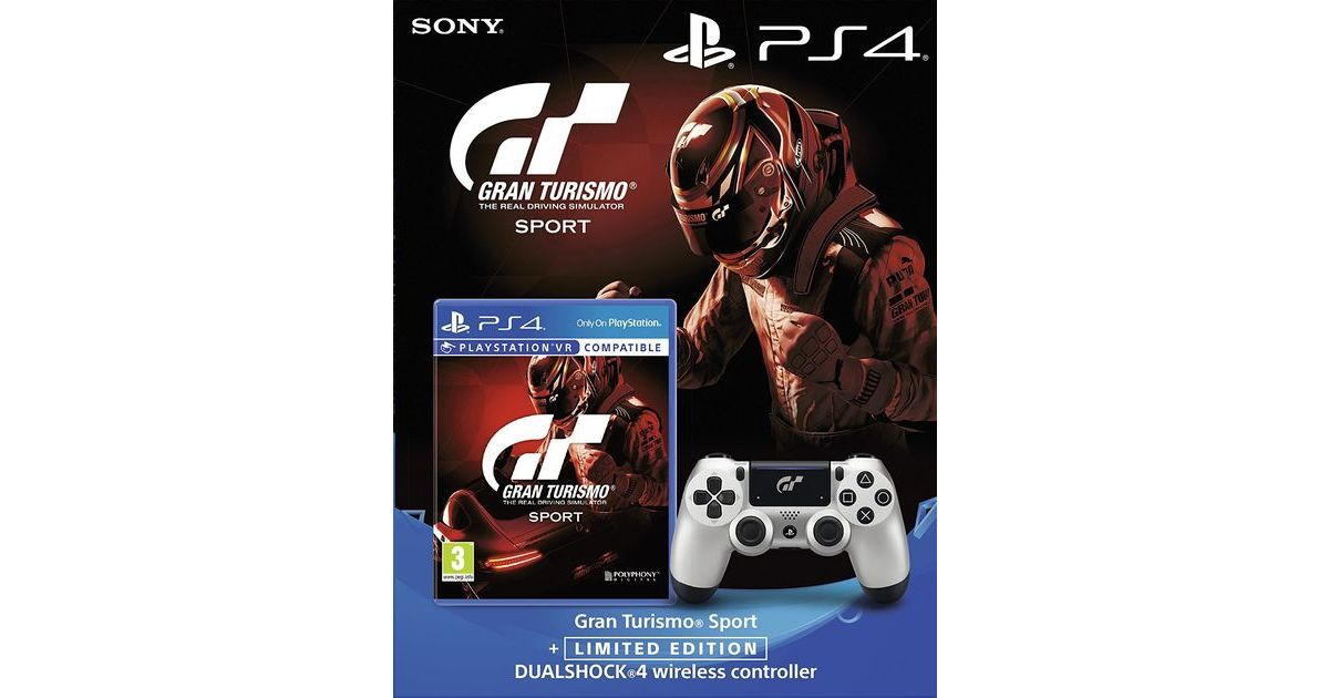 gt sport bundle with game and limited edition dual shock 4. Black Bedroom Furniture Sets. Home Design Ideas