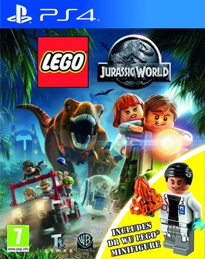 Lego: Jurassic World Inc Dr Wu Mini Figure