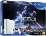 Playstation 4 Slim White Console Star Wars Bundle 500GB PS4