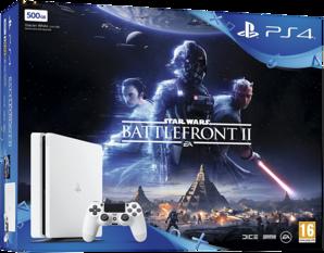 Playstation 4 Slim White Console Star Wars Bundle 500GB PS4