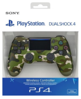 Sony PlayStation DualShock 4 V2 New Model - Green Camouflage