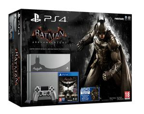 PS4 Console Limited Edition with Batman: Arkham Knight