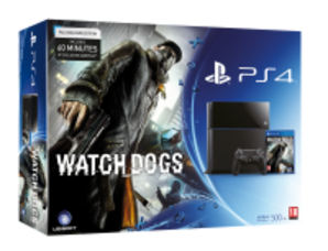 Sony PlayStation 4 - Watch Dogs Bundle