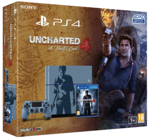 Sony PlayStation 4 1TB Uncharted 4: A Thief's End Special Ed