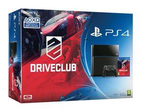 Sony PlayStation 4 (Black) - Driveclub Bundle