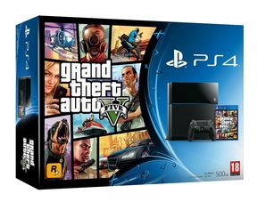 Sony PlayStation 4 - GTA V Bundle