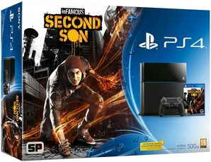 Sony PlayStation 4 - Infamous Second Son Bundle