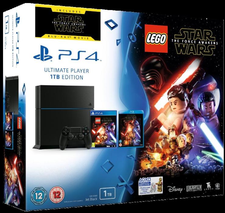 Sony PlayStation 4 Lego Star Wars Bundle - 1TB Edition
