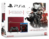 Sony PlayStation 4 Limited Ed - RED Metal Gear Solid Console