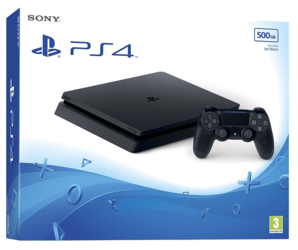 Sony Playstation 4 New Look Slim Console - 500GB