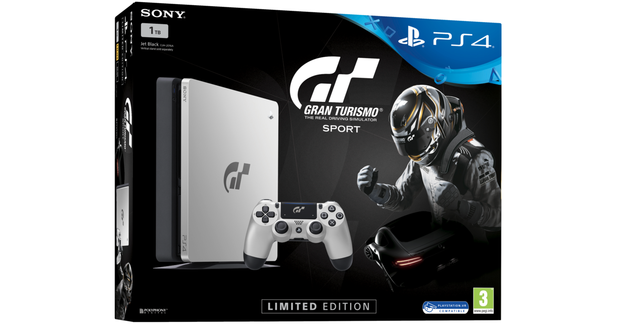 sony playstation 4 slim console 1tb gt sport limited edition. Black Bedroom Furniture Sets. Home Design Ideas
