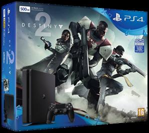 Sony Playstation 4 Slim Console - 500GB Destiny 2 Bundle