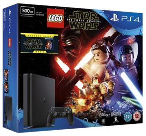 Sony Playstation 4 Slim Console - 500GB Lego Star War Bundle