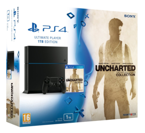 Sony PlayStation 4 - Uncharted Collection 1TB Bundle