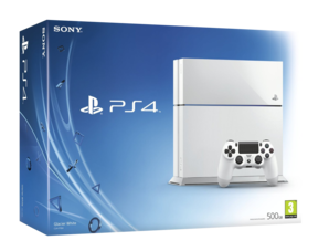 Sony PlayStation 4 - White - 500GB