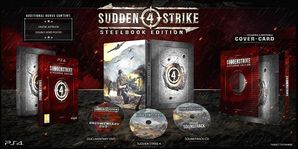Sudden Strike 4 Steelbook Edition