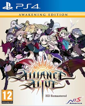 The Alliance Alive HD Remastered Awakening Edition