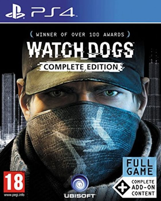 Watch Dogs Complete Edition – PlayStation Watch Dogs Ps4 Box Art