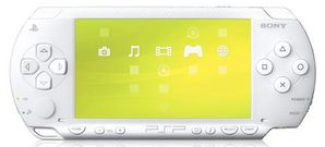 PSP CONSOLE - Uk value pack White