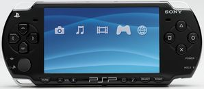 PSP Slim and Lite (Black)