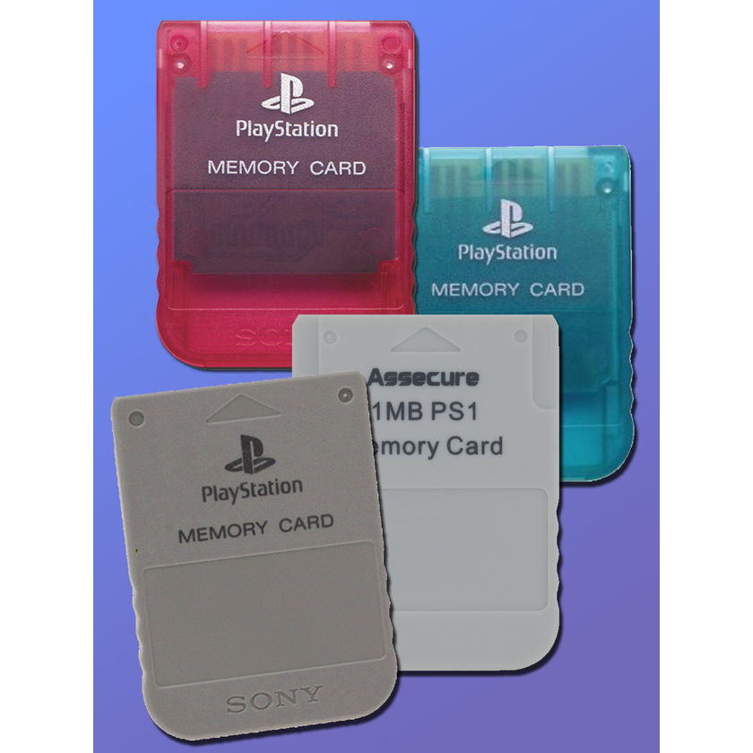 Image result for Playstation memory card