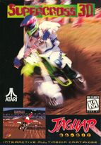 Supercross 3D for Atari Jaguar