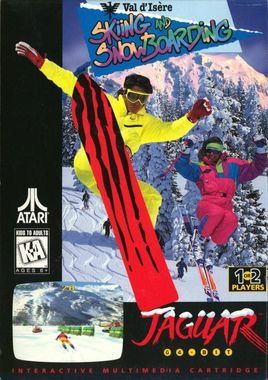 Val D'Isere Skiing and Snowboarding for Atari Jaguar