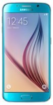 Samsung Galaxy S6 - 32GB Blue Topaz - Locked
