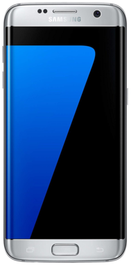 Samsung Galaxy S7 EDGE - 32GB Silver - Unlocked