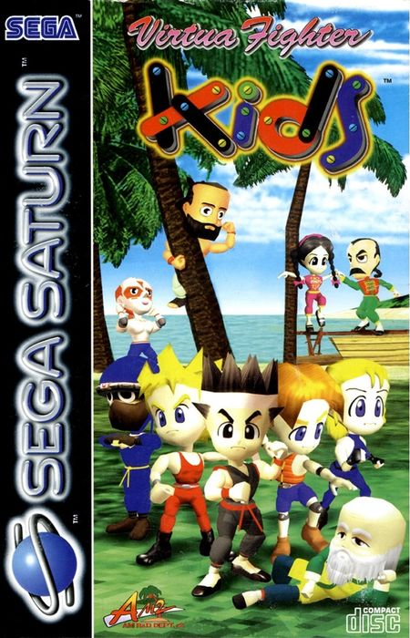 Virtua Fighter Kids – Sega Saturn