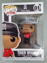 #01 Tiger Woods (Red Shirt) - Pop Golf