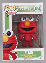 #08 Elmo - Pop Sesame Street - BOX DAMAGE