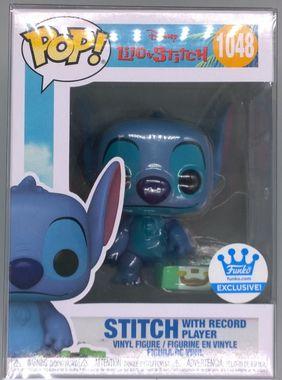 #1048 Stitch with Record Player - Disney Lilo & Stitch - Exc